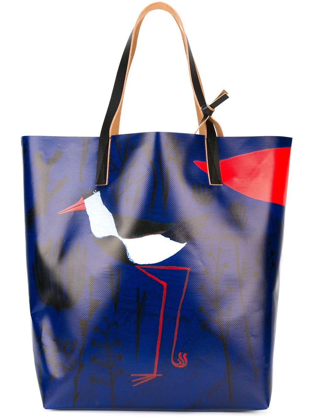 Vogel Shopper Print Marni O' Mit 2IEDH9