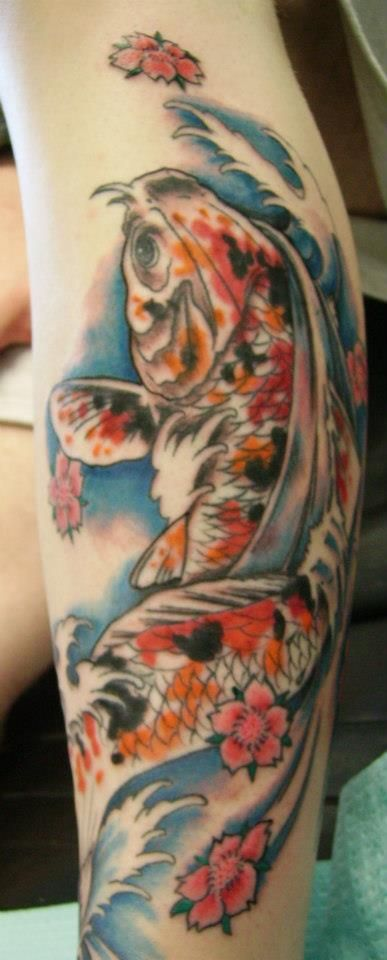 Snohomish Tattoo Studio 715 1st St Snohomish Wa 98290 360 799 3791 Koi Fish Tattoo Koi Fish Colors Koi Fish