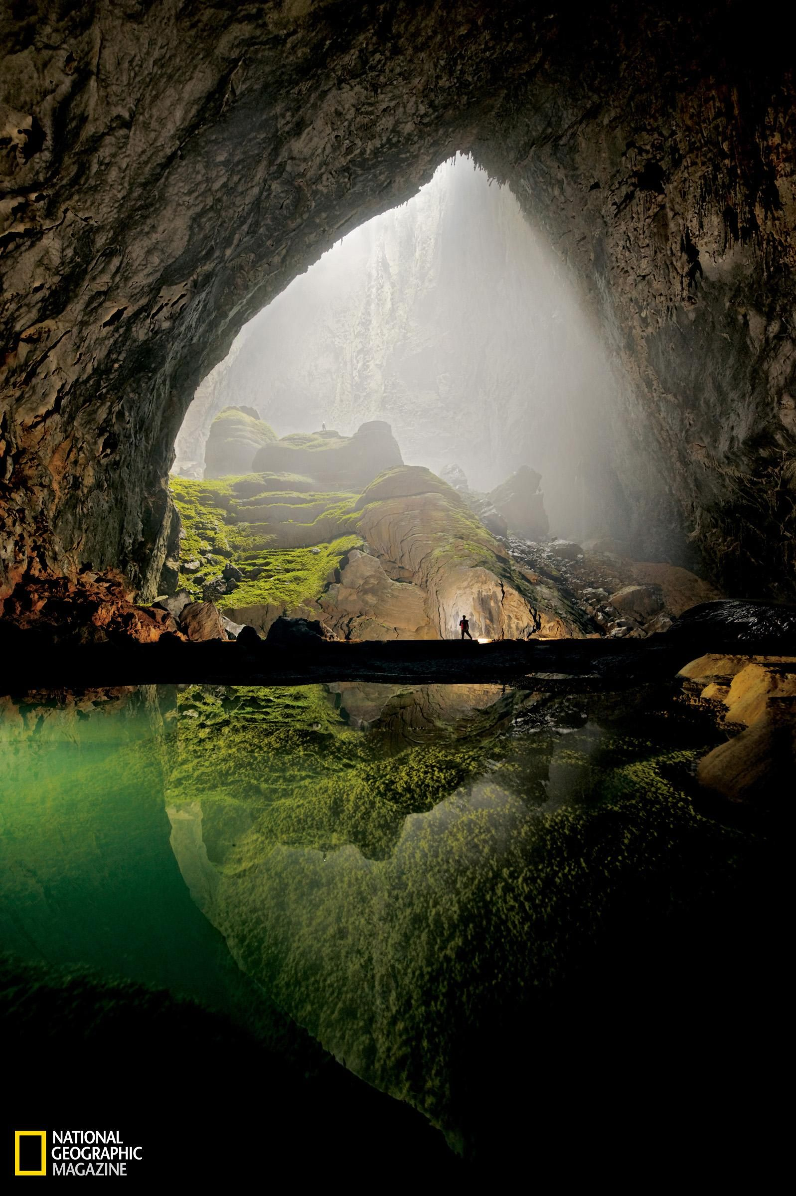 Hang Son Doong, a massive cave rediscovered in Vietnam last year. #travels #places #Vietnam