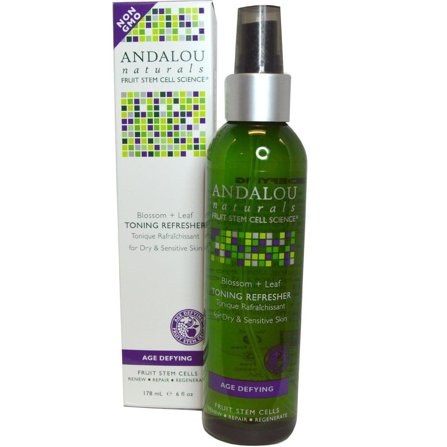 ANDALOU NATURALS Toning Refresher Blossom + Leaf Age