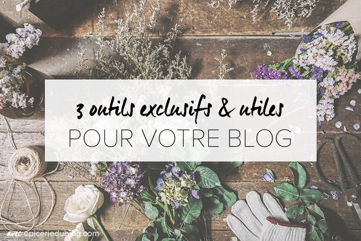 outils #blogging