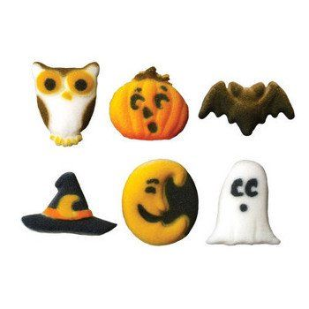 Cutie Creepers Halloween Themed Edible Cupcake Toppers by Lucks