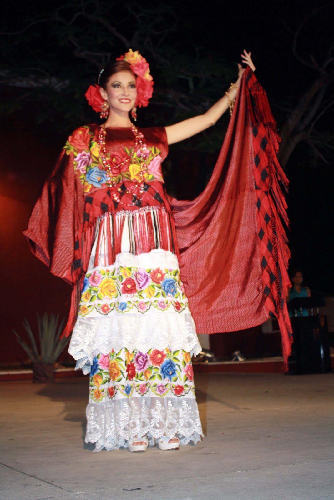 Vestido Tradicional De Yucatan Google Search En 2019