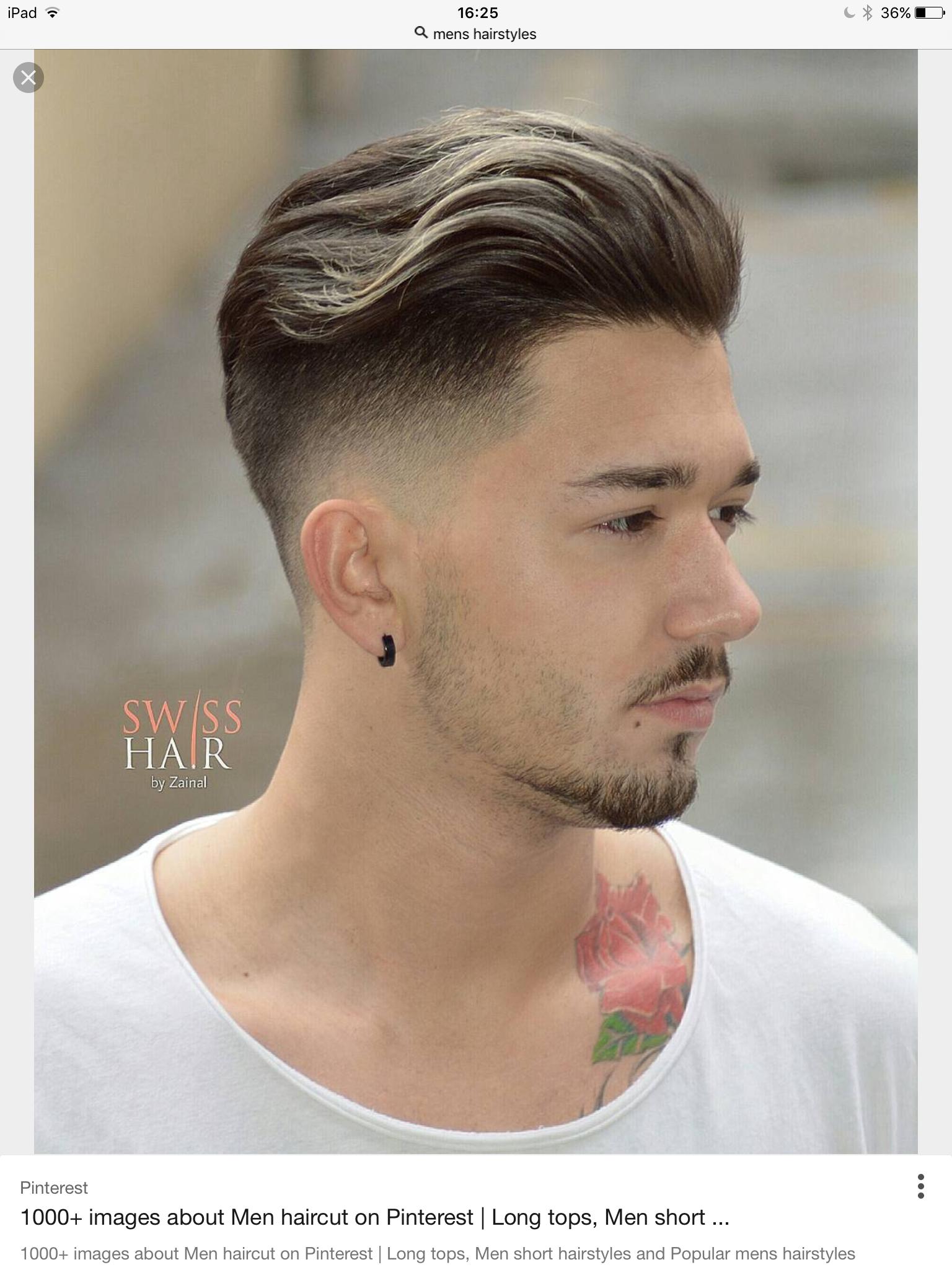 Guy Hairstyles Quiff