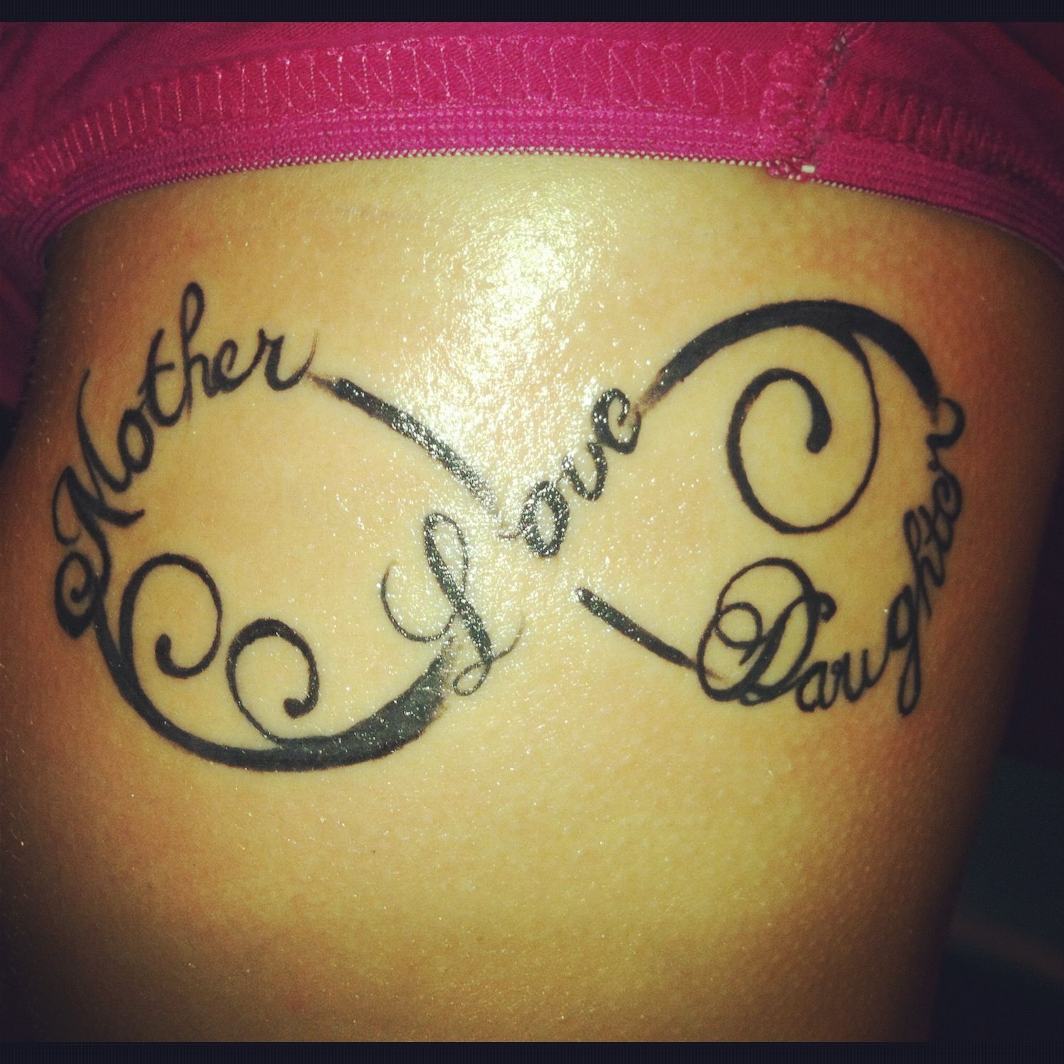 Infinity tattoo mother love daughter I think i might something