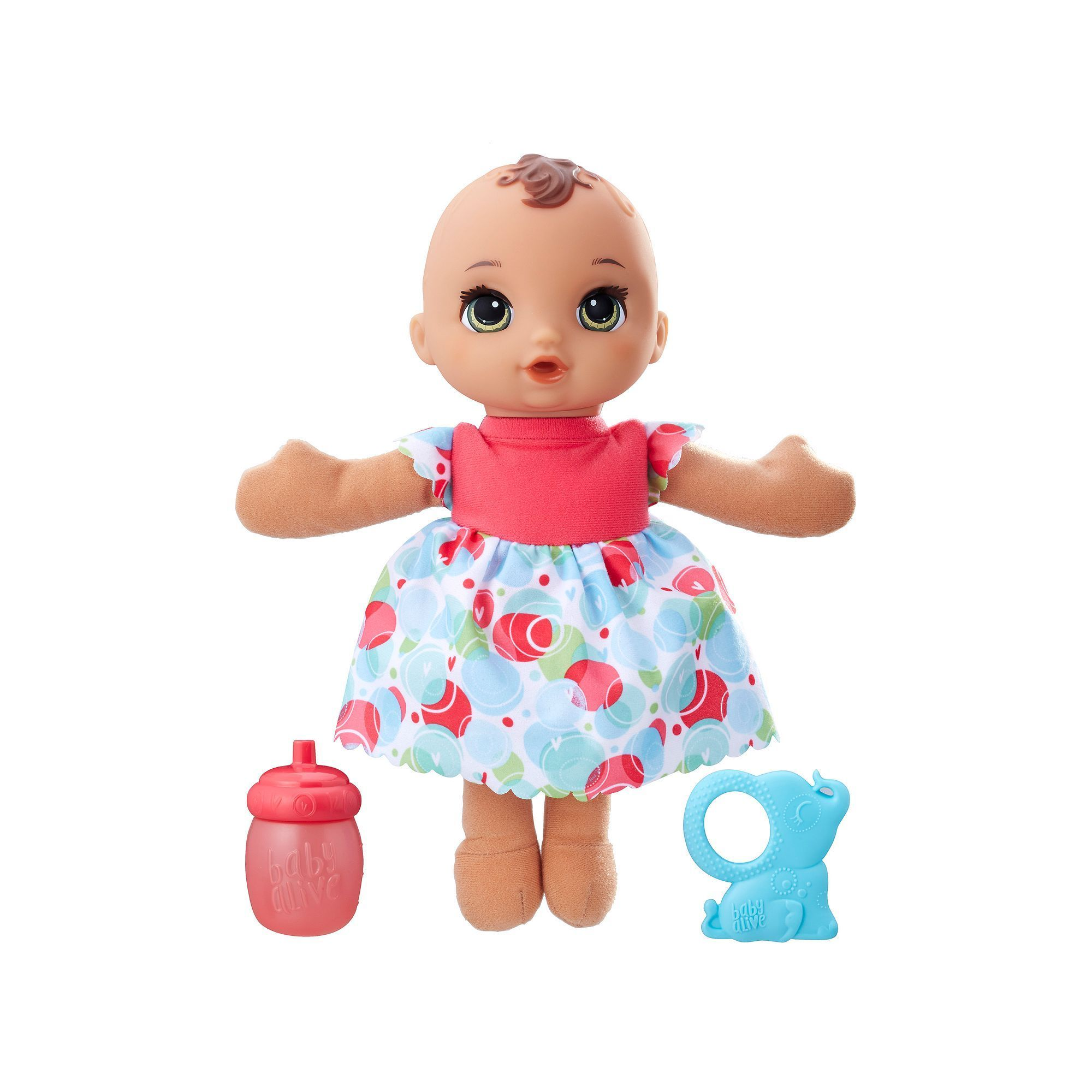 Baby Alive Lil Slumbers Brunette Baby Doll Multicolor