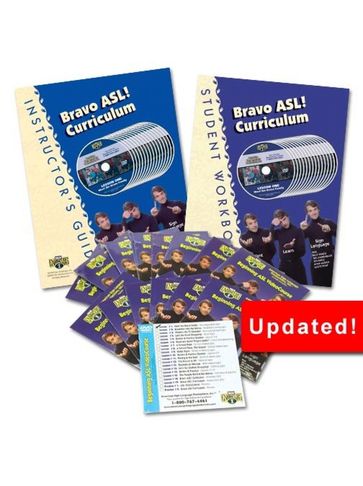 Bravo ASL Updated Curriculum Package