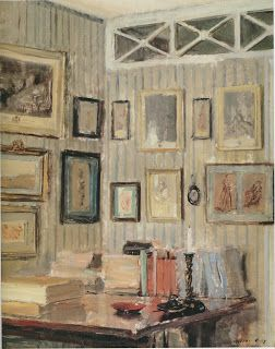 The Artist S Study Rue De L Université C 1910 From Impressions Of Interiors Gilded Age Paintings By Walter