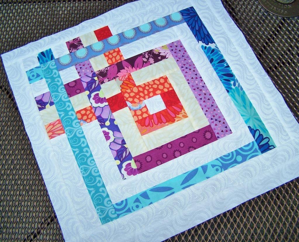 BOM #8 Scrap Happy Quilt Block Sampler pattern on Craftsy.com