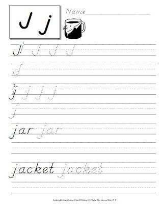 Tpt Fonts 4 Teachers Handwriting Practice Dnealian Handwriting Letter I Worksheet