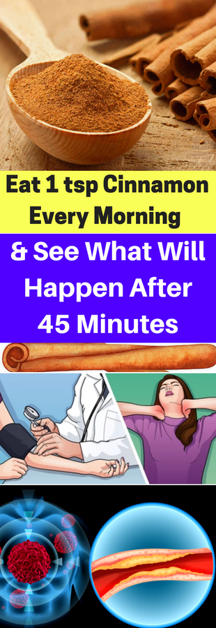 Eat 1 Tsp Cinnamon Every Morning & See What Will Happen After 45 Minutes!!!  #wieghtloss  #fitness