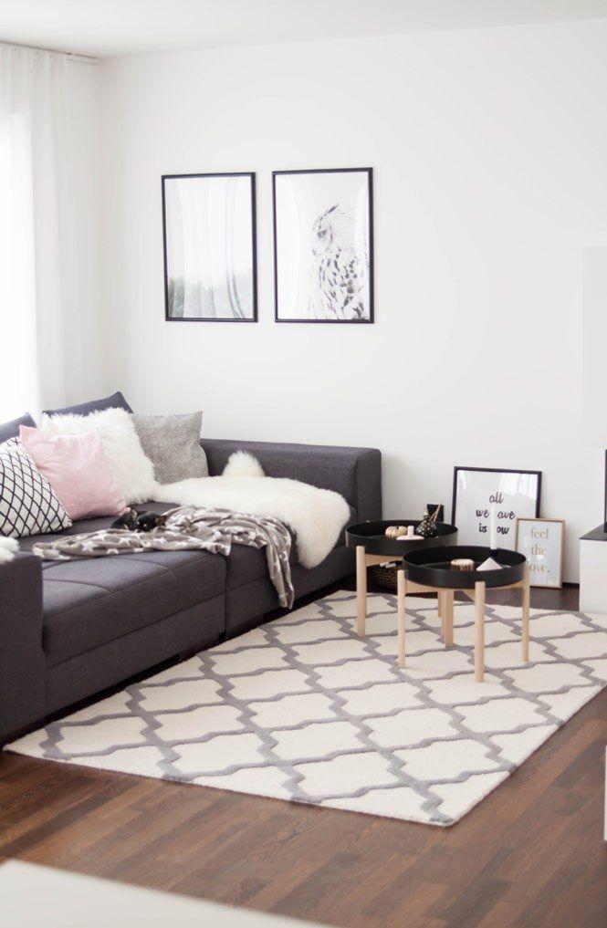 Wohnbereich mit Ypperlig von Ikea | Geniale Hacks // Tipps ...