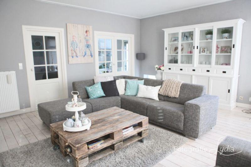 Afbeeldingsresultaat voor woonkamer inspiratie grijstinten ...