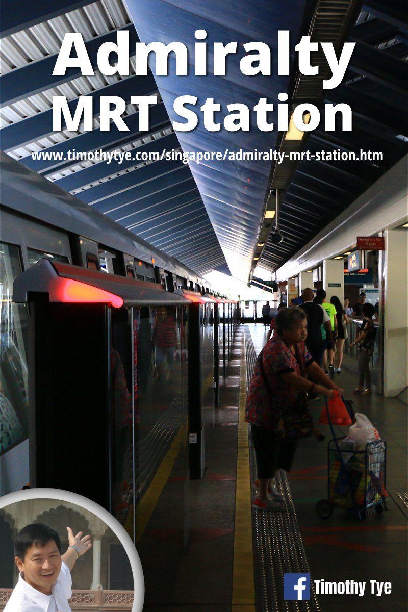 Admiralty MRT Station, Singapore Station, Singapore