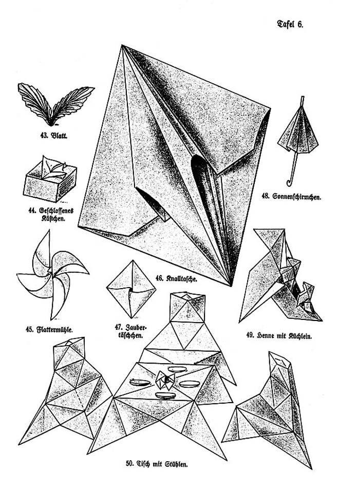 Origami Blaetter , Das Falten Friedrich Fröbel Origami Craft Pinterest
