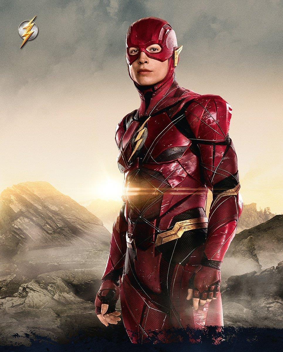 The Flash Barry Allen Ezra Miller Justice League Marvel