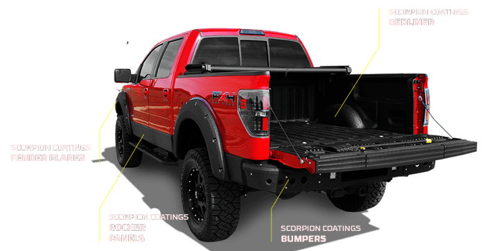 Make Your Truck Stand Out on the Road With Custom Colored