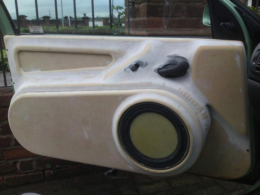 unusual 2way install Car Audio