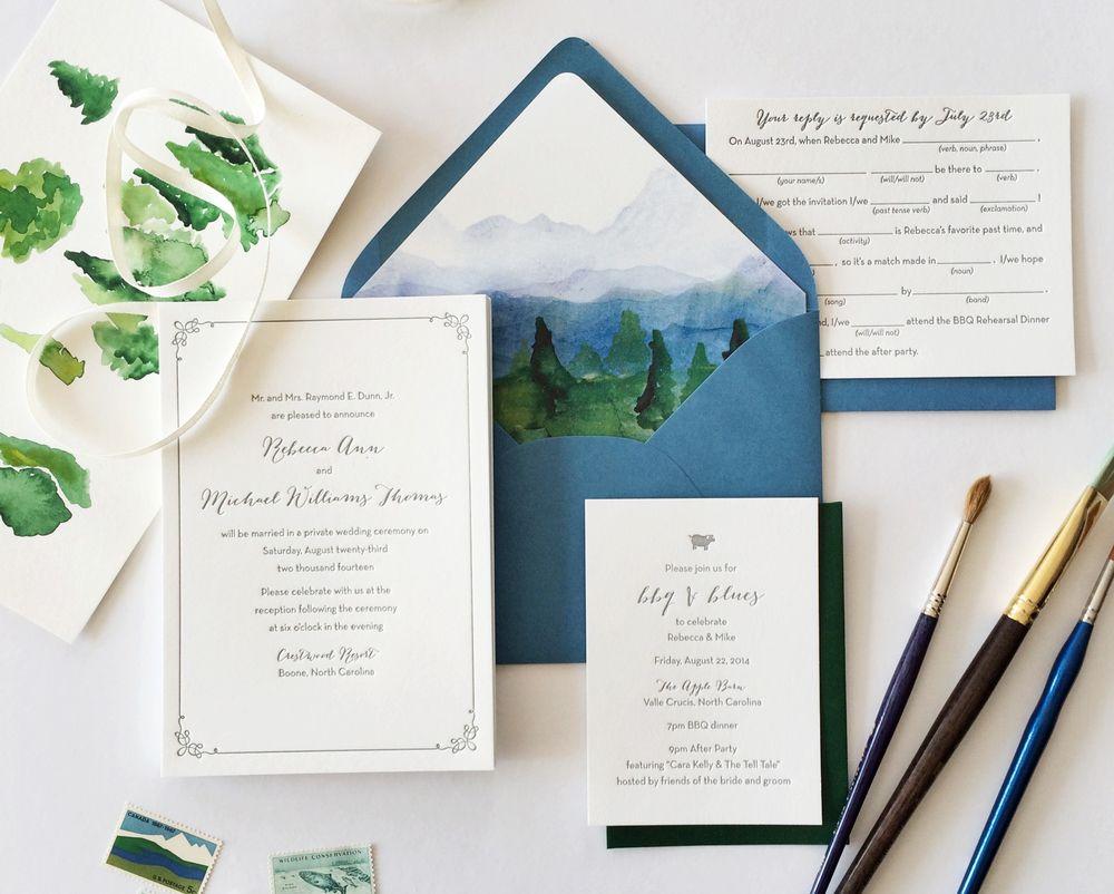 Hellotenfold Mountain Wedding Invitation Jpg Becca S Invites