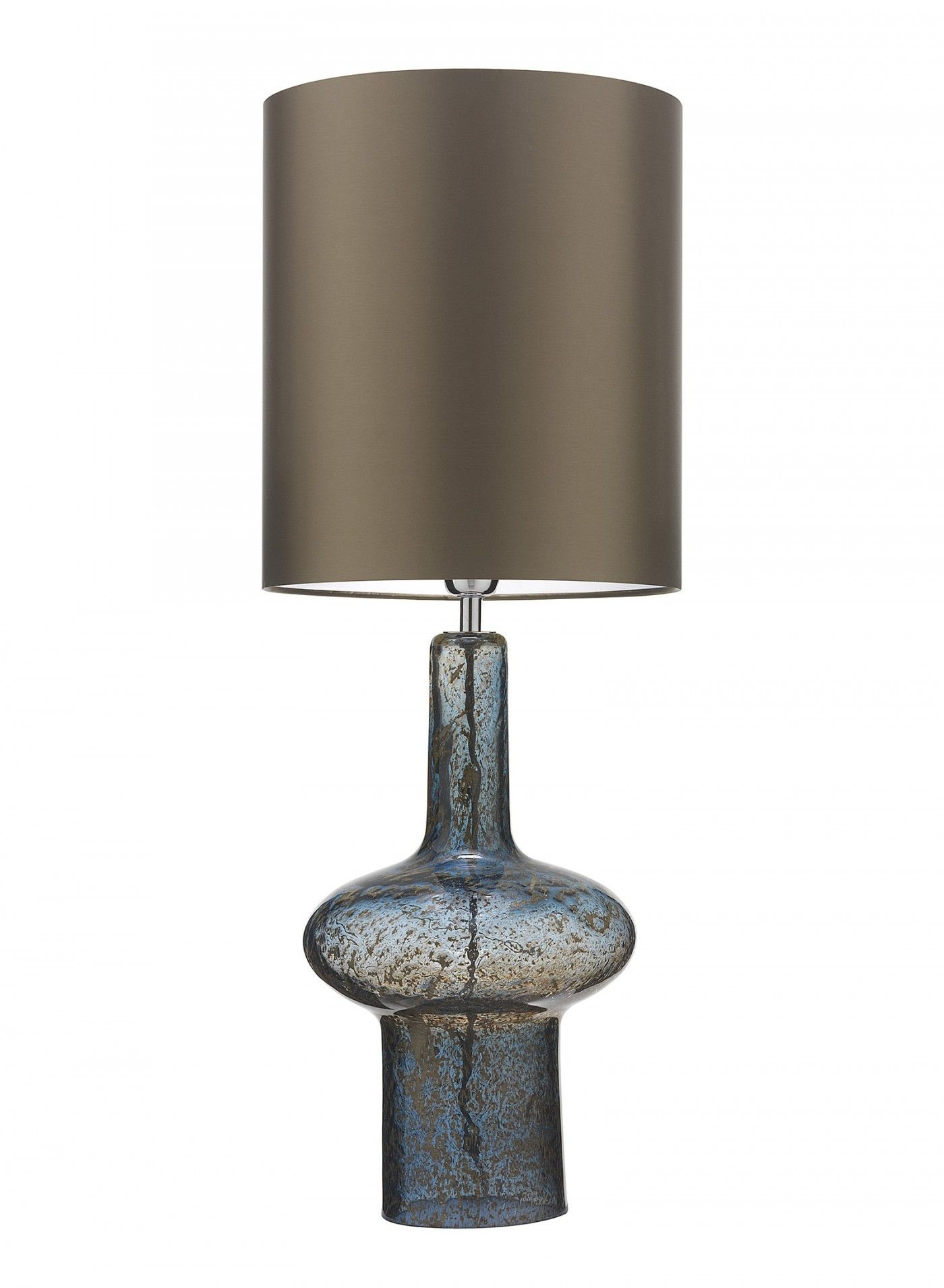Verdi Indigo Blue Table Lamp   Mould Blown Glass With Volcanic Frit, Lava  And Marble Textures And Patinas Creating A Stunning Form.