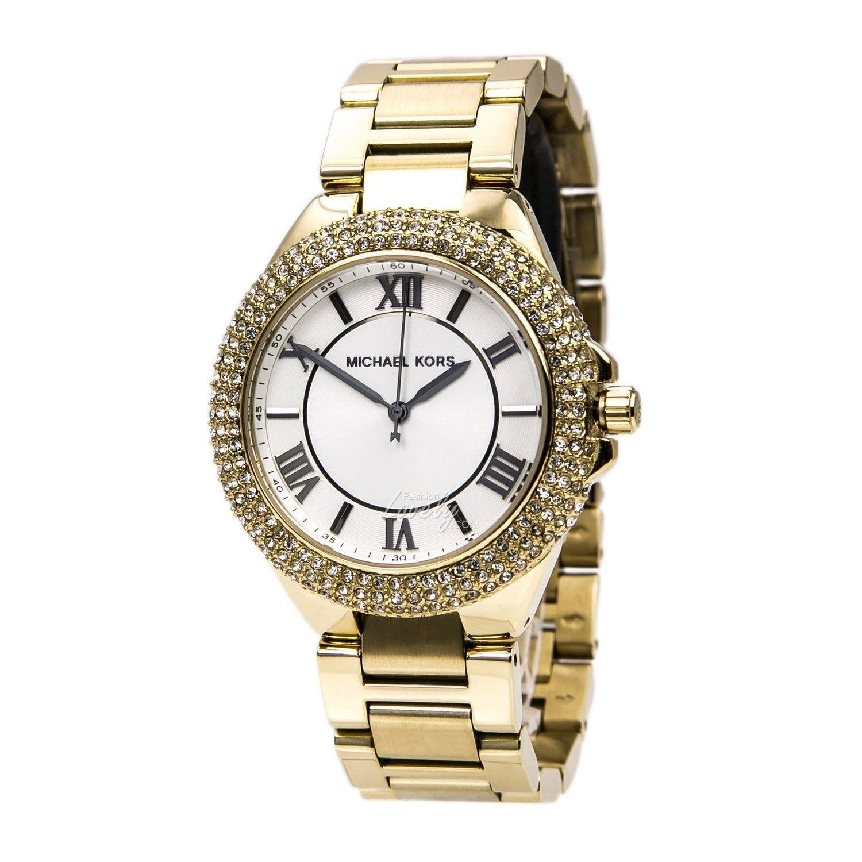 0ff2f9f188ce นาฬิกา Michael Kors MK3277 Gold-Tone Glitz ...