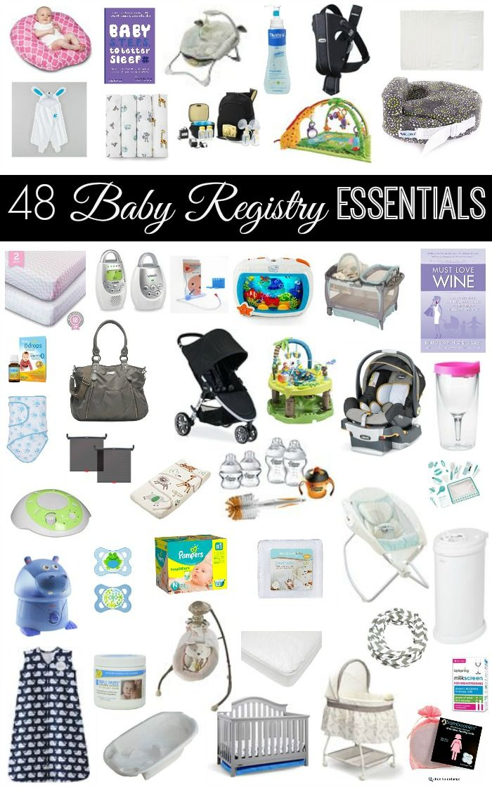 Itu0027s A Question I Get Asked A Lot...what Should I Put On My Baby  Registry??? Here Is An Extensive List Of What You SHOULD (and SHOULD NOT)  Have On Your Baby ...