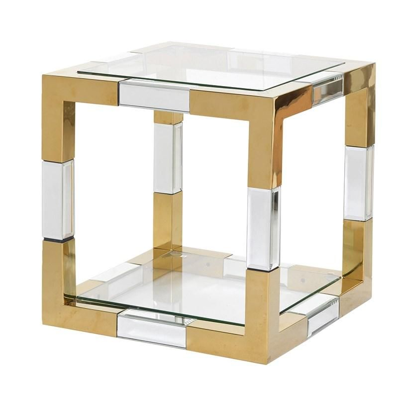 Simple Elegant Rubeck Square Side Table – Shropshire Design Model - Simple small side table with shelf Inspirational