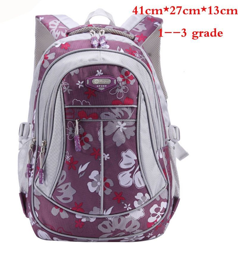 e4ed3e1b687c New Floral Printing Children School Bags Backpack For Teenage Girls Boys  Teenagers Trendy kids Book Bag