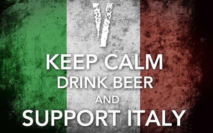 Keep Calm & Support Italy by Shot