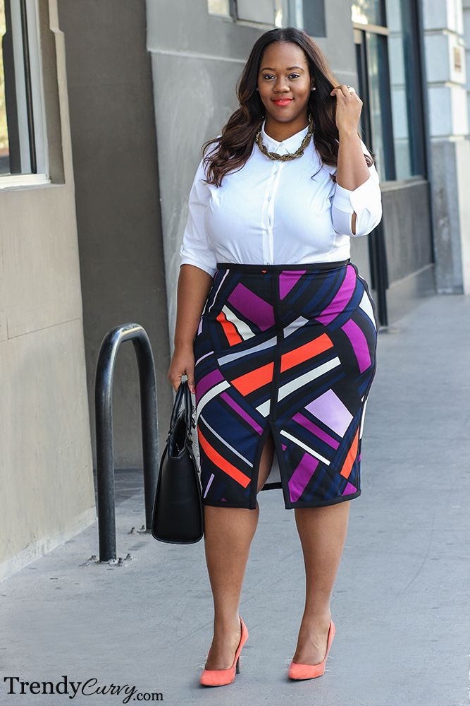 f39f453ae7d Love this work look! Plus Size Fashion for Women - Trendy Curvy