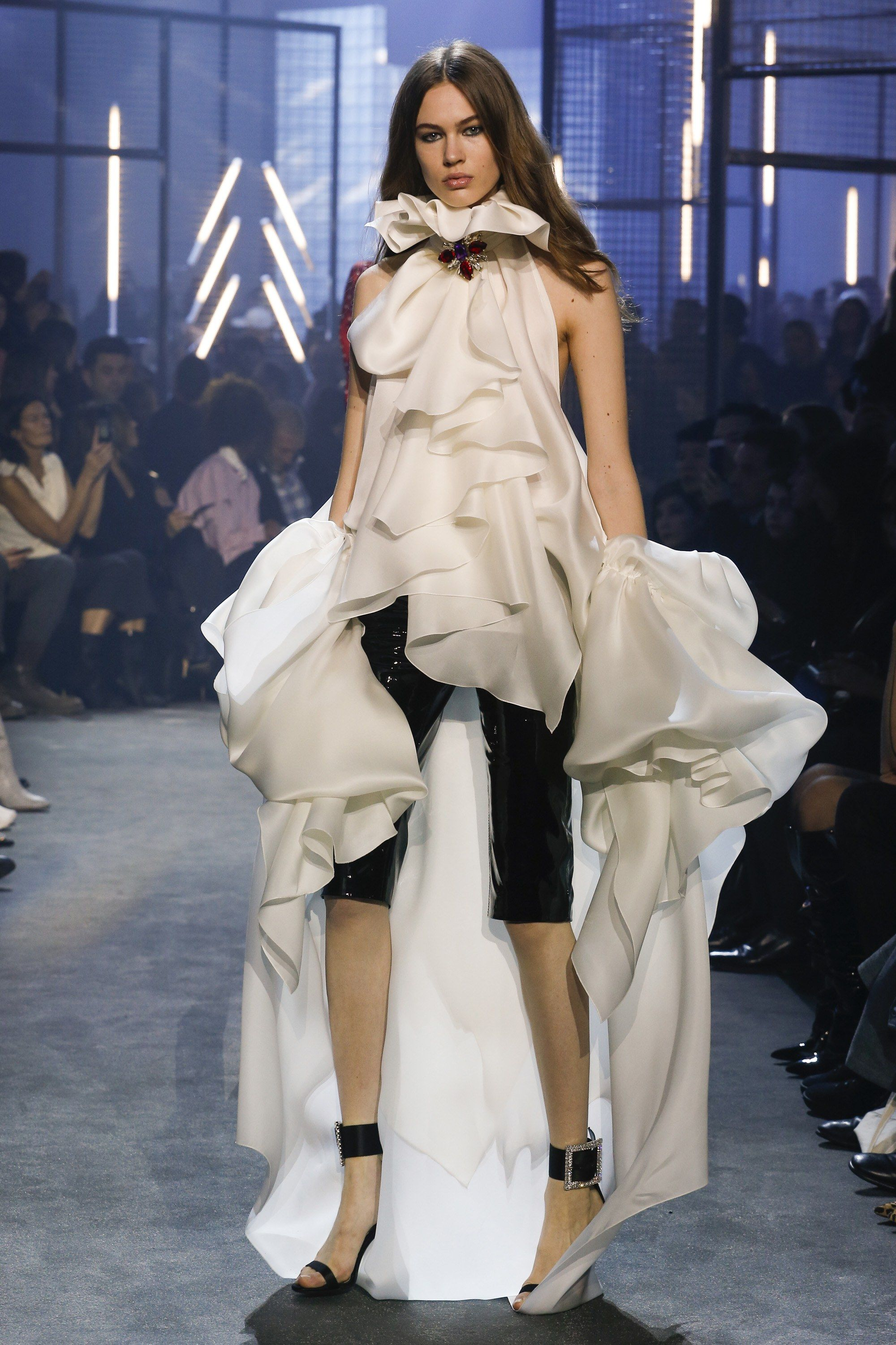 fb2399a9 The complete Alexandre Vauthier Spring 2018 Couture fashion show now on  Vogue Runway.