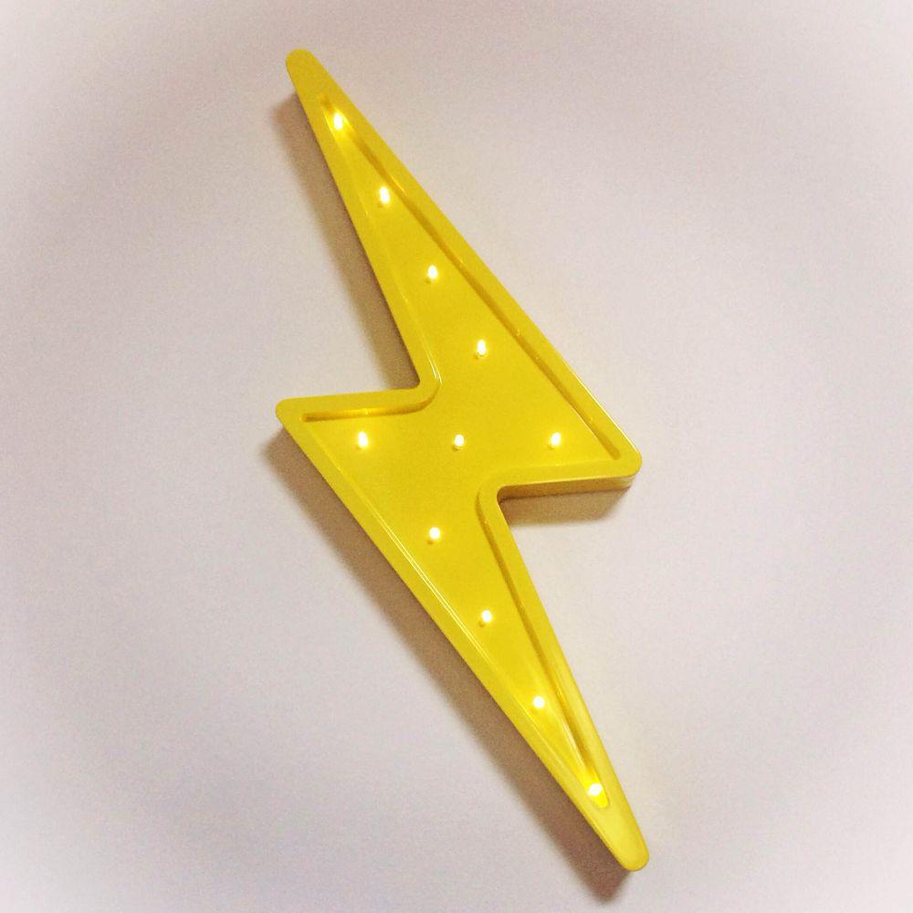 Little Letter Light Co S Battery Operated Lightning Bolt Light Is