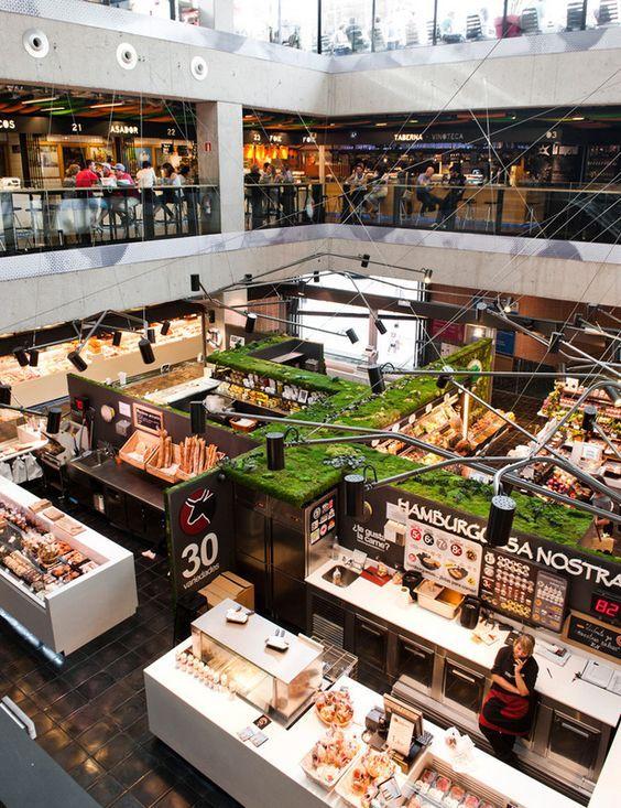 Turismo De Mercado Diseno De Supermercado Arquitectura Y