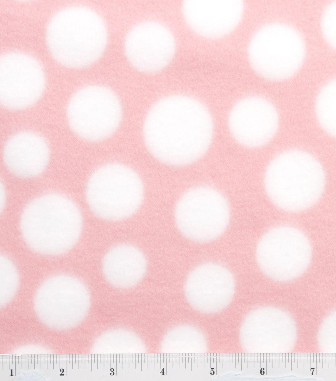 White apron joann fabrics - Blizzard Fleece Fabric Light Pink White Dot