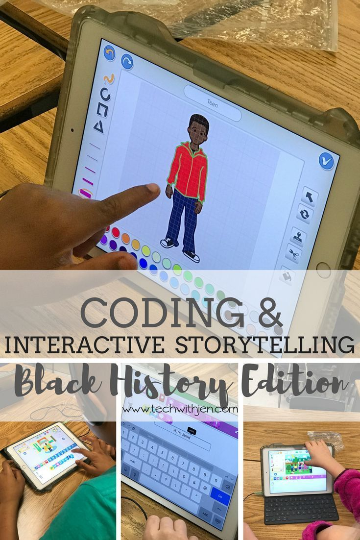 Black History Interactive Storytelling And Coding Nonfiction