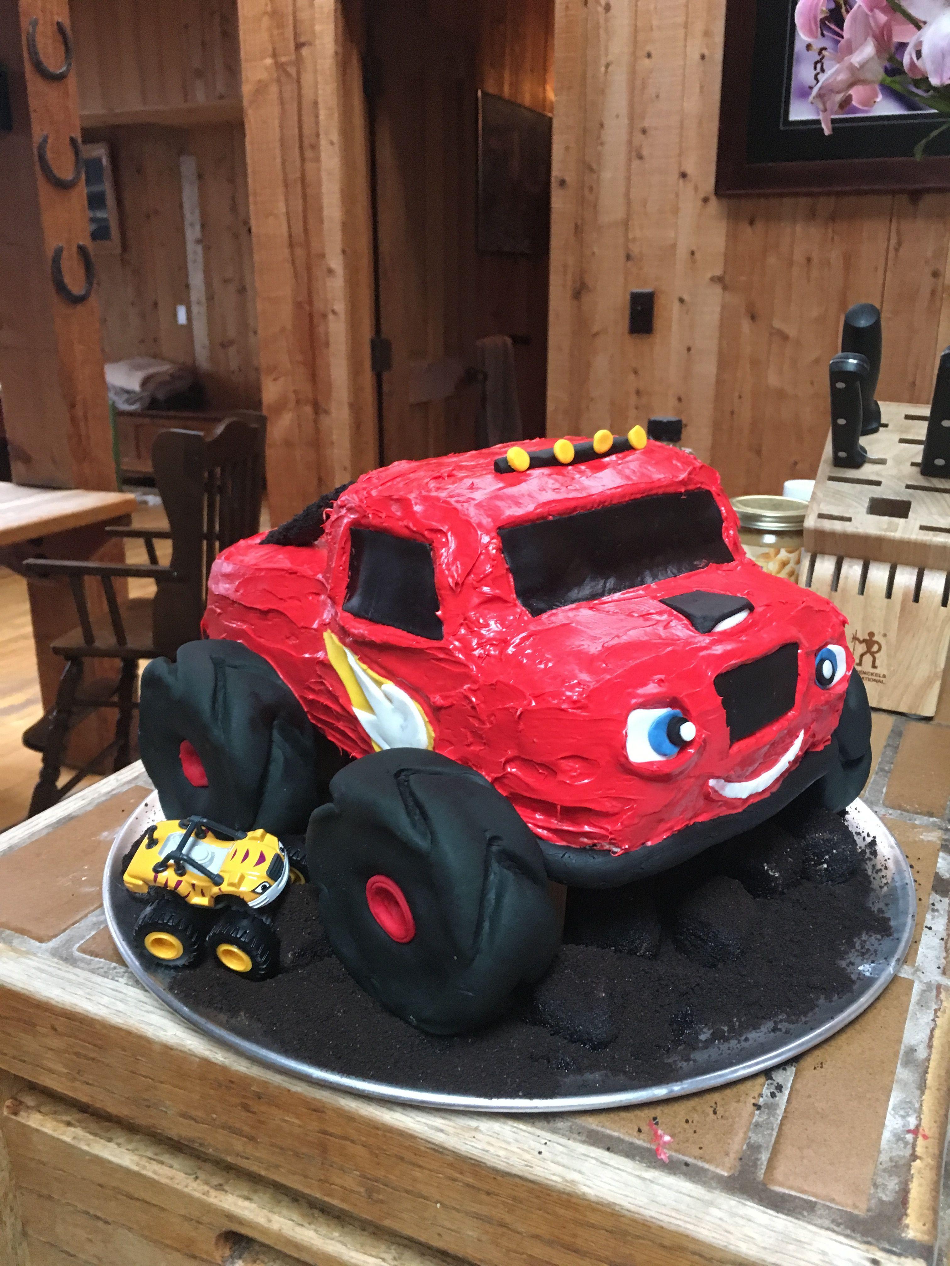 Blaze The Monster Truck Cake