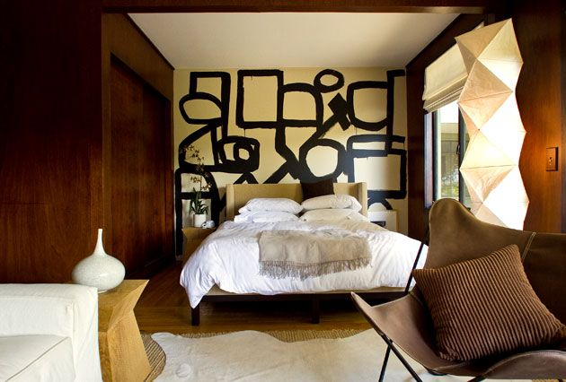 graphic bedroom