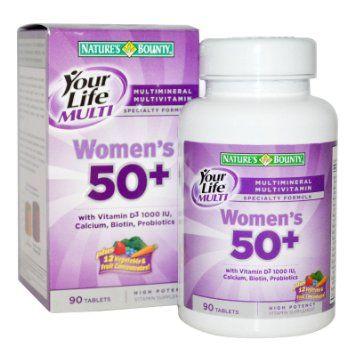 Nature S Bounty Your Life Women S Multi 50 Plus 90