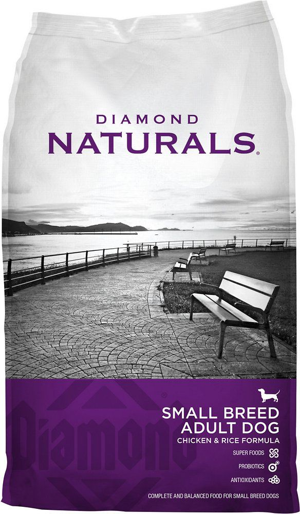 Diamond Naturals Small Breed Adult Chicken Rice Formula Dry Dog