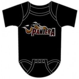 Pantera Onesie Baby Creeper Lil Dragster. Check it out: http://www.littlerockstore.com/baby/baby-bandclothing-newandinspiration/baby-newandinspiration-new/pantera-baby-onesie-lil-dragster.html
