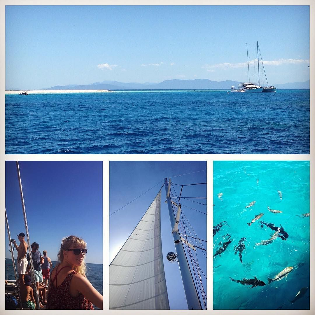 To the Great Barrier Reef!  #greatbarrierreef by evelinaidamaria http://ift.tt/1UokkV2