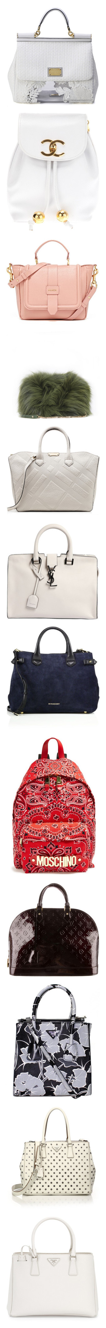 """Bags "" by dianahduncan ❤ liked on Polyvore featuring bags, handbags, borse, d&g, purse bag, dolce gabbana bag, jelly bag, handbags purses, jelly handbags and backpacks"
