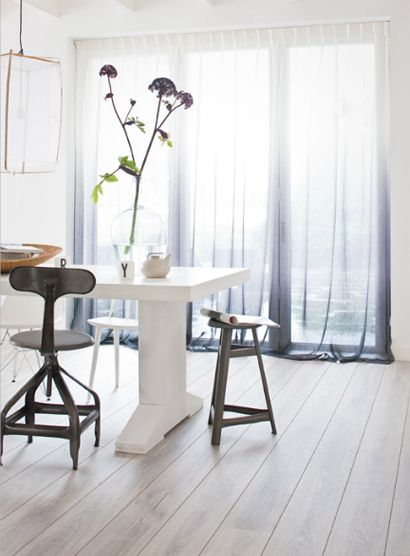 Dip dye voile gordijnen grijs | Raam Inspiratie | Pinterest | Wohnen ...