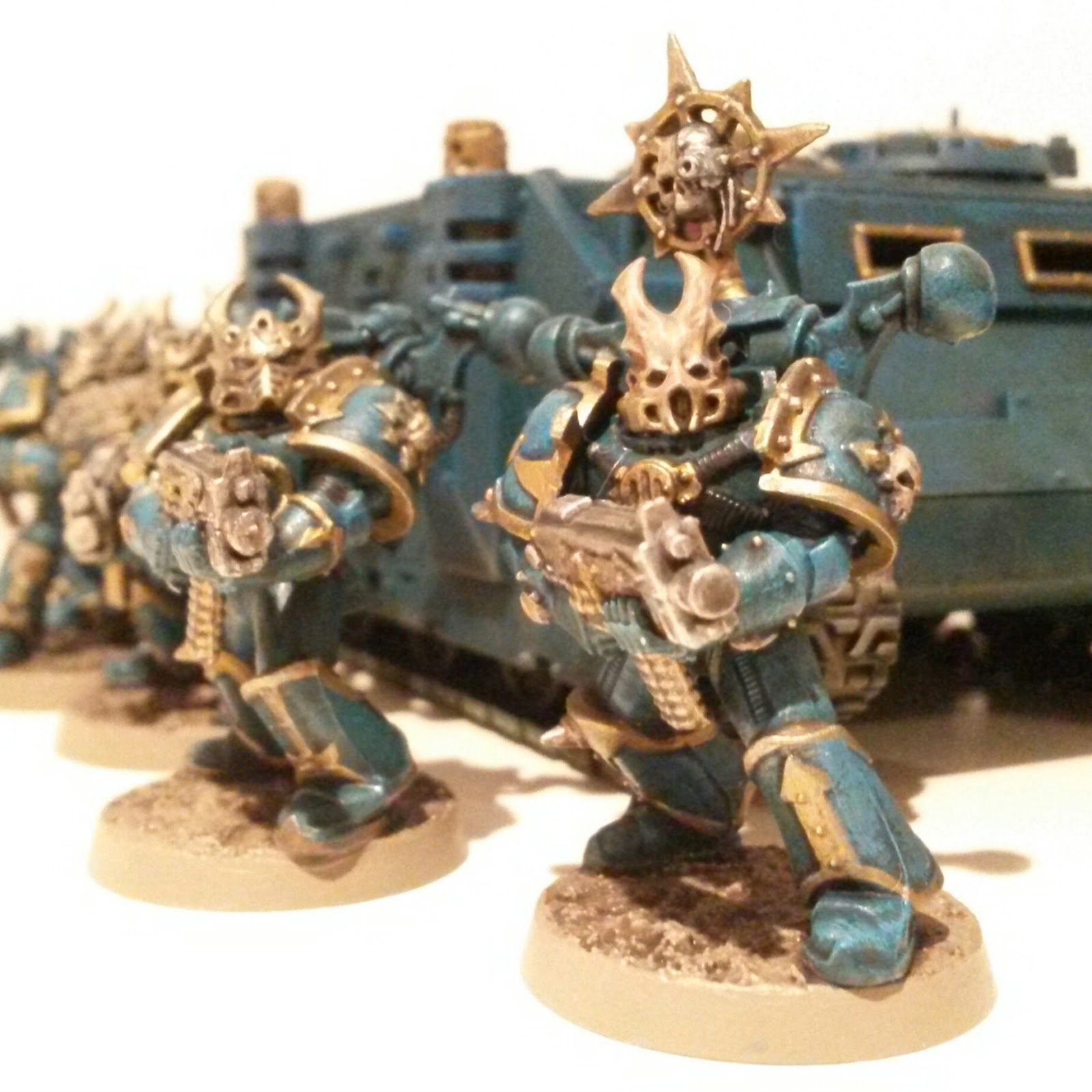 Thousands Sons Chaos Space Marines Conversion