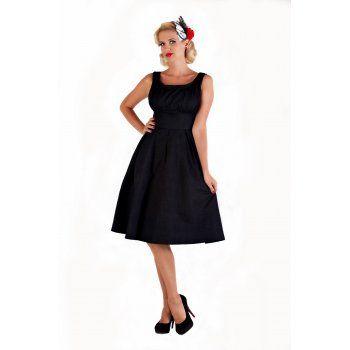 SELEMA BLACK DRESS   Vintage Inspired Fashion - Lindy Bop