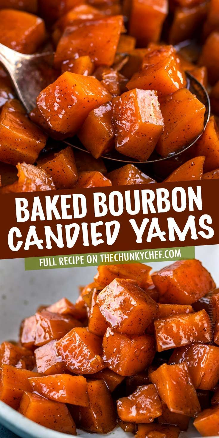 Candied Yams with Bourbon
