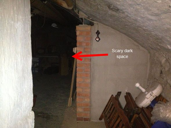 homealonebasement7 Scary Creepy Basements great for