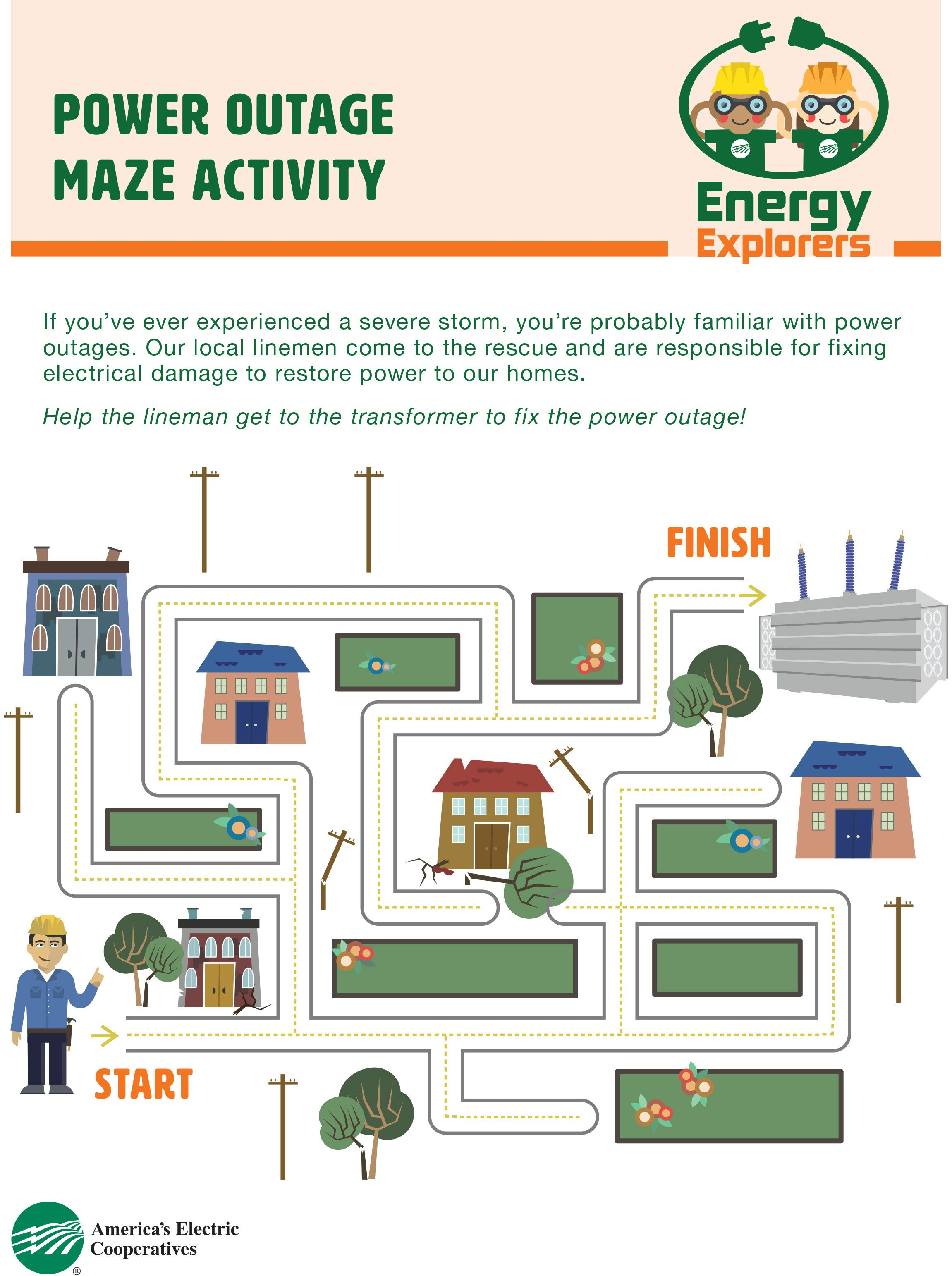 Teach Your Child About Power Outages And How Electricity