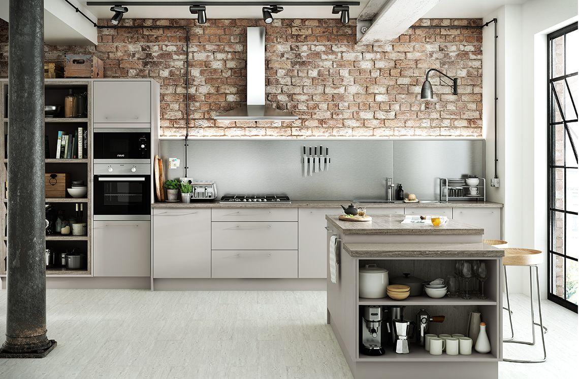 Best Matt Dove Grey Benchmarx Kitchens Joinery Benchmarx 400 x 300