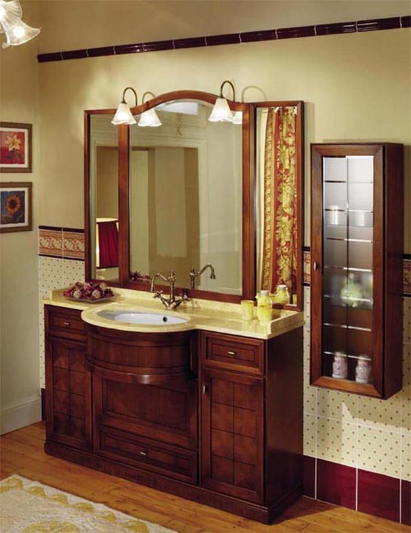 Bathroom Cabinet Ideas Design view in gallery classy floating sink cabinet set in a contemporary bathroom clad in glass Wonderful Bathroom Vanity Design Ideas Ideas Vanity Design Ideas